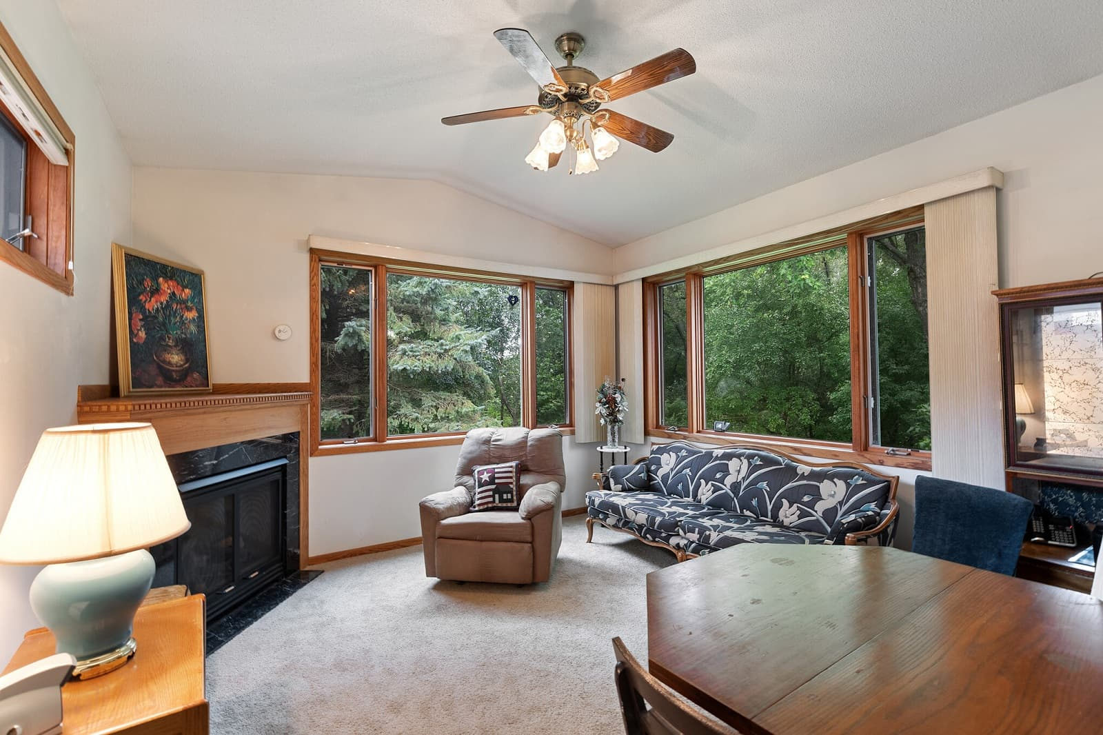 Real Estate Photography in Minnetonka - MN - Living Area View