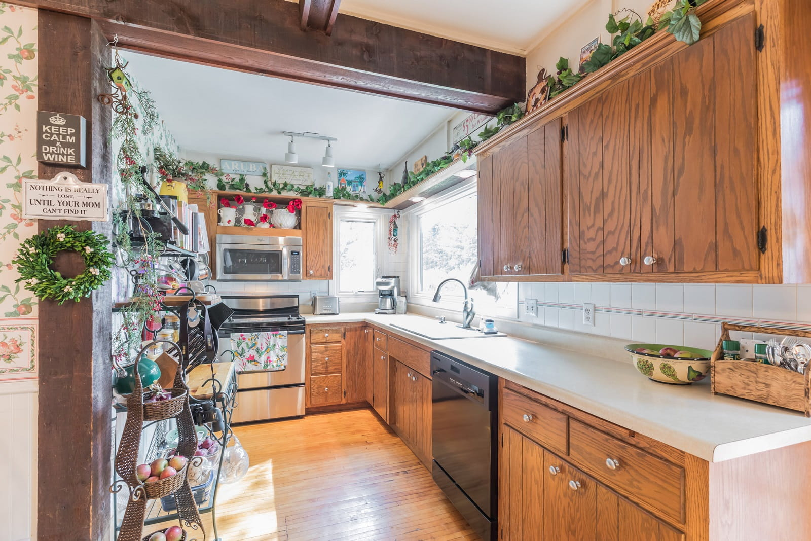 Real Estate Photography in Belle Plaine - MN - Kitchen View