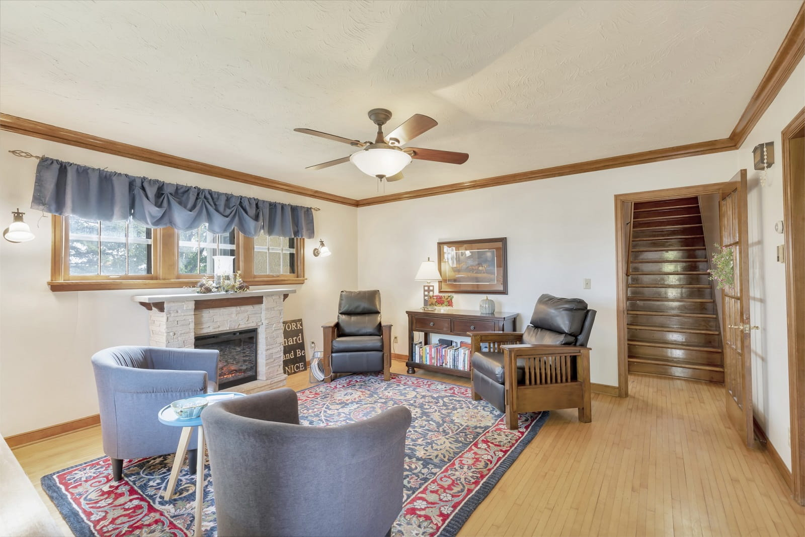 Real Estate Photography in Belle Plaine - MN - Living Area View