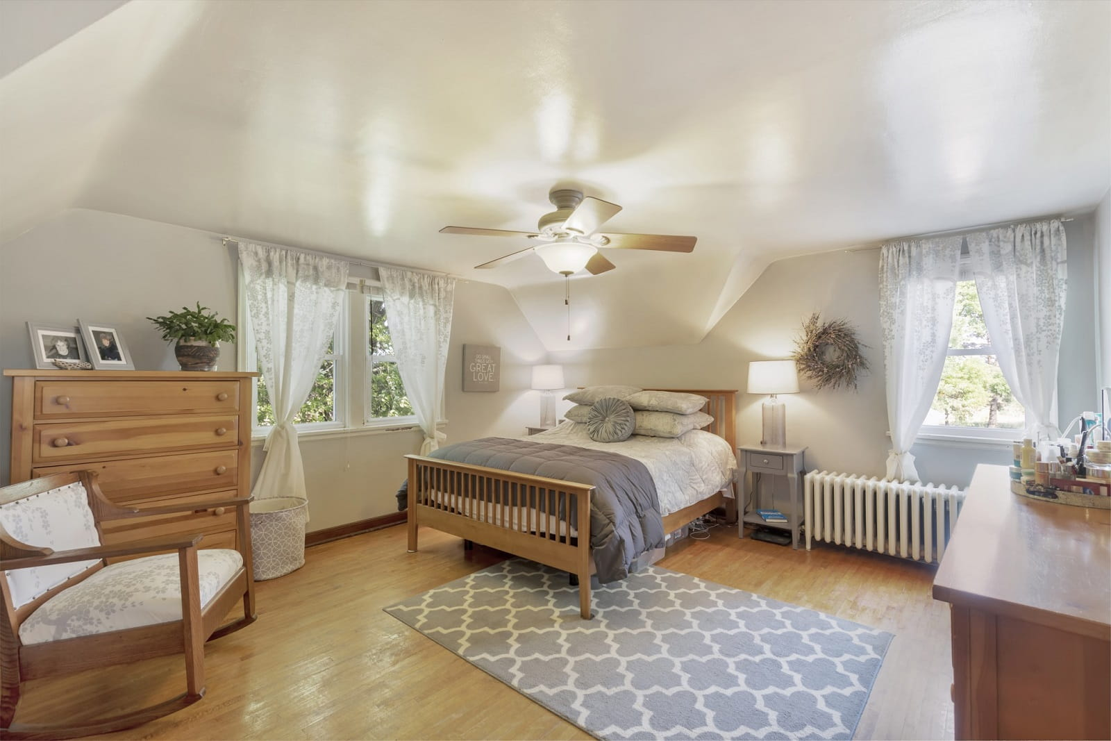 Real Estate Photography in Belle Plaine - MN - Bedroom View