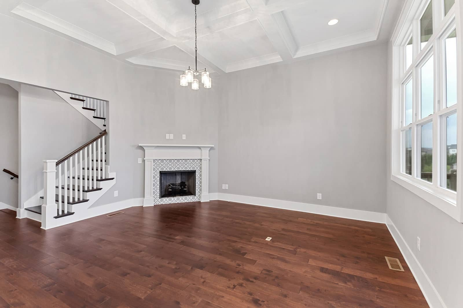 Real Estate Photography in Franklin - TN - USA - Living Area View
