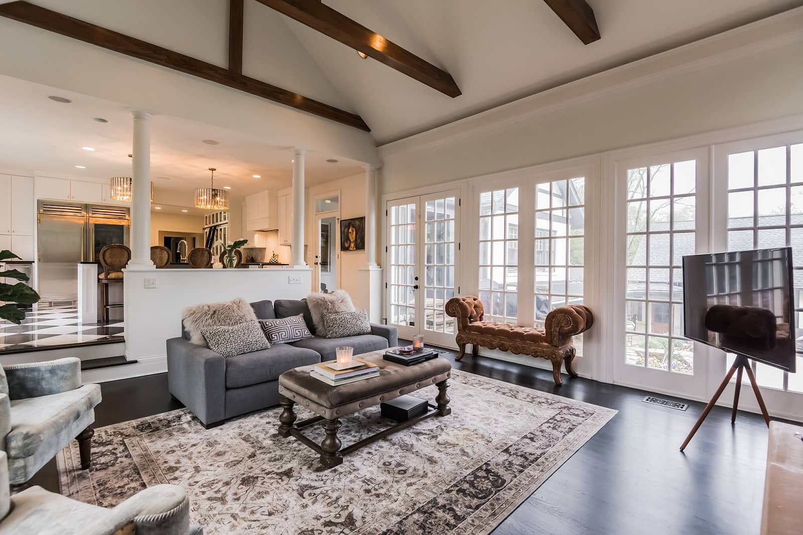 Real Estate Photography in Nashville - TN - Living Area View