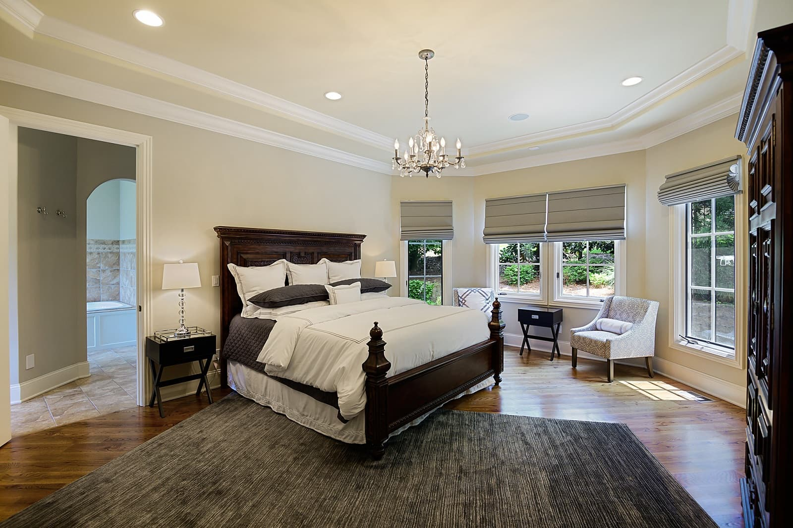 Real Estate Photography in Brentwood - TN - USA - Bedroom View