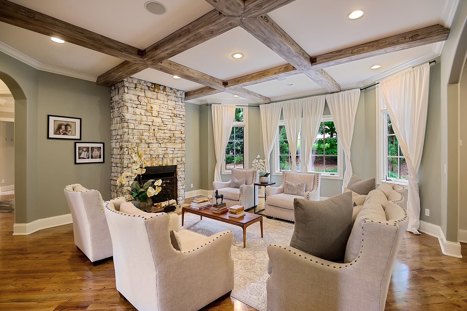Real Estate Photography in Brentwood - TN - USA - Living Area View