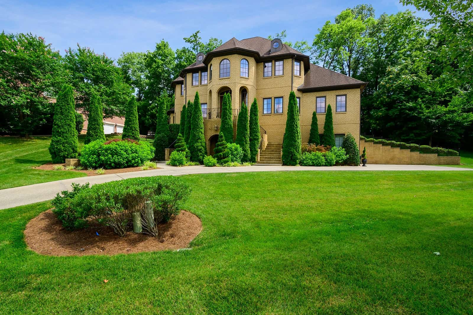 Real Estate Photography in Brentwood - TN - USA - Front View