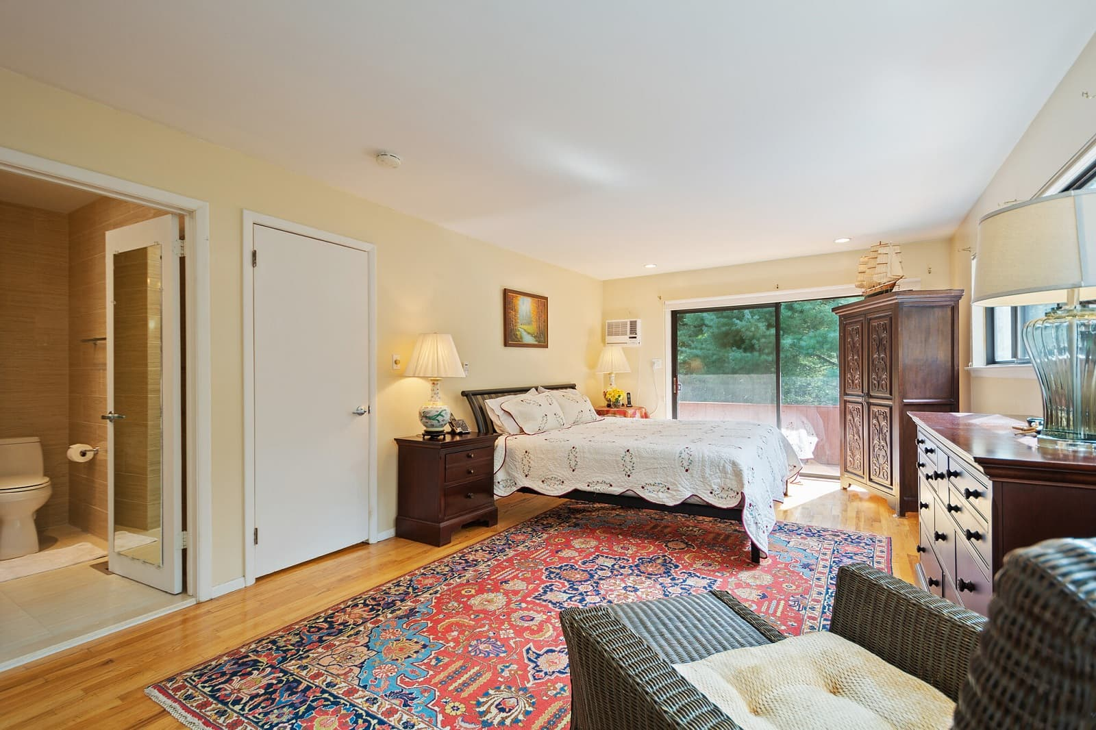 Real Estate Photography in Montauk - NY - USA - Bedroom View