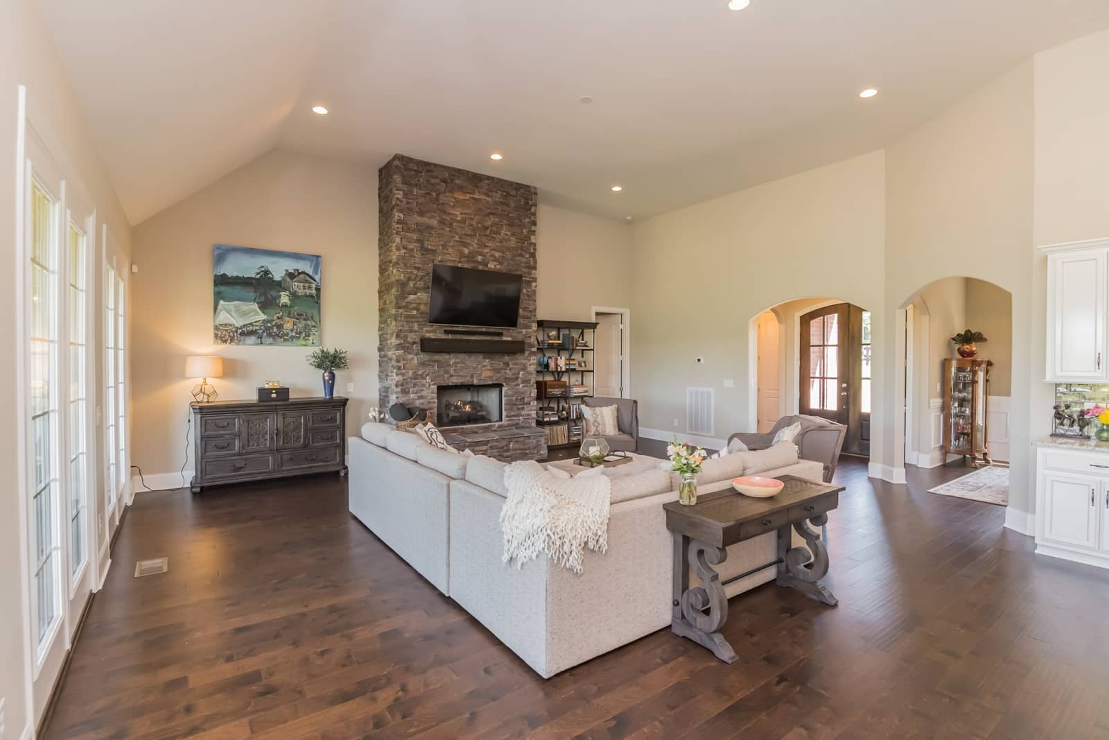 Real Estate Photography in Hendersonville - TN - USA - Living Area View