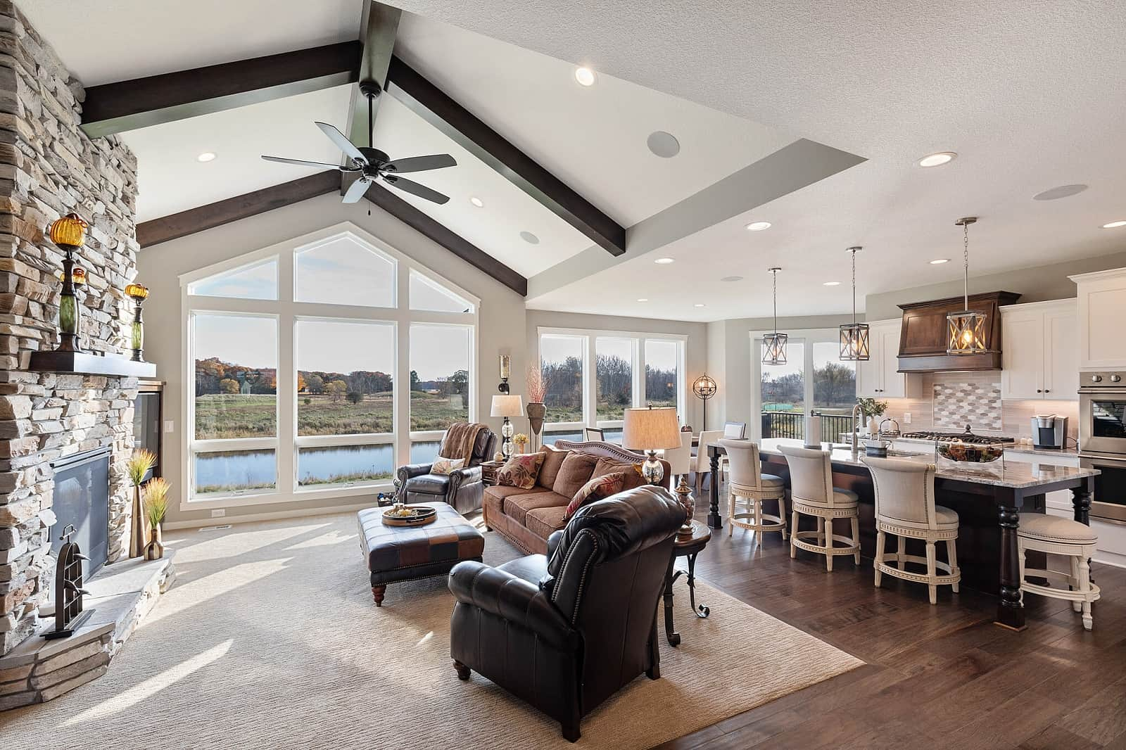 Real Estate Photography in St Paul - MN - Living Area View