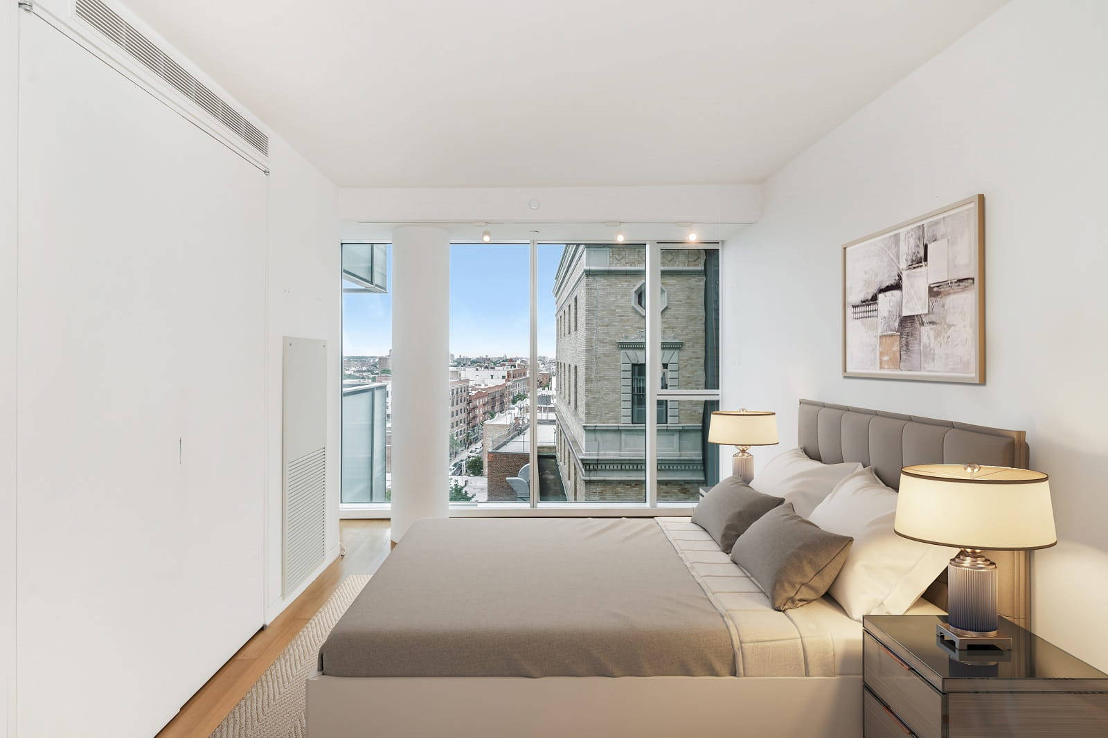 Real Estate Photography in Brooklyn - NY - USA - Bedroom View