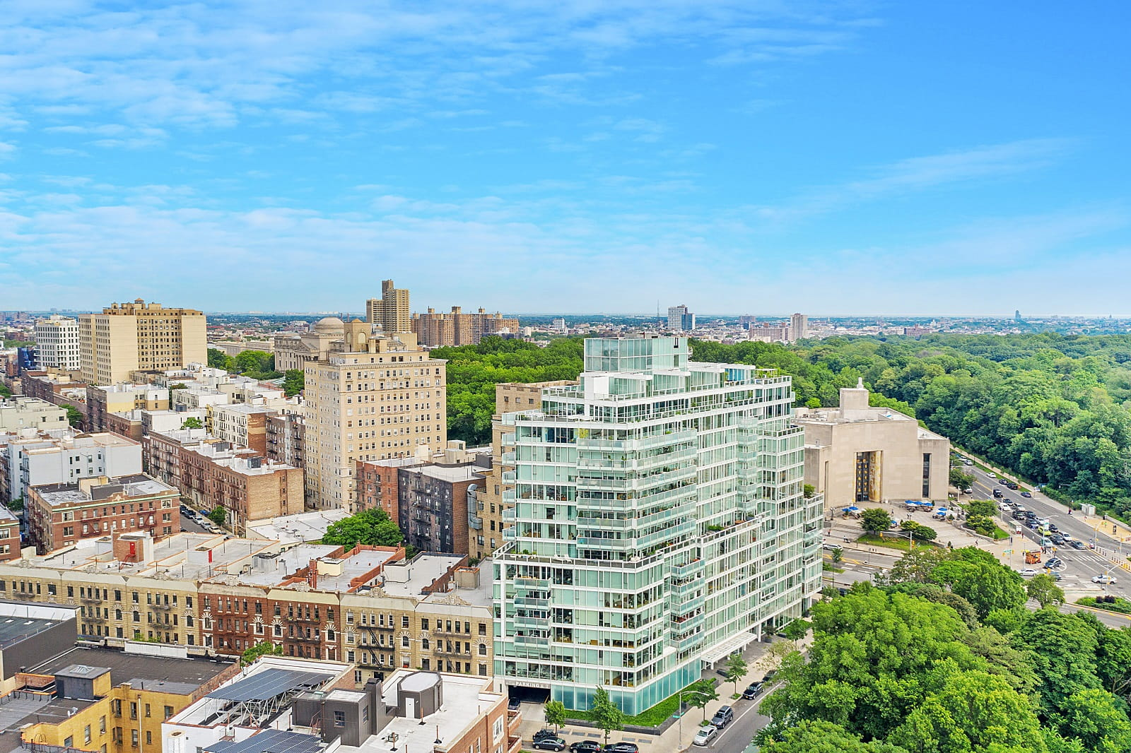 Real Estate Photography in Brooklyn - NY - USA - Aerial View