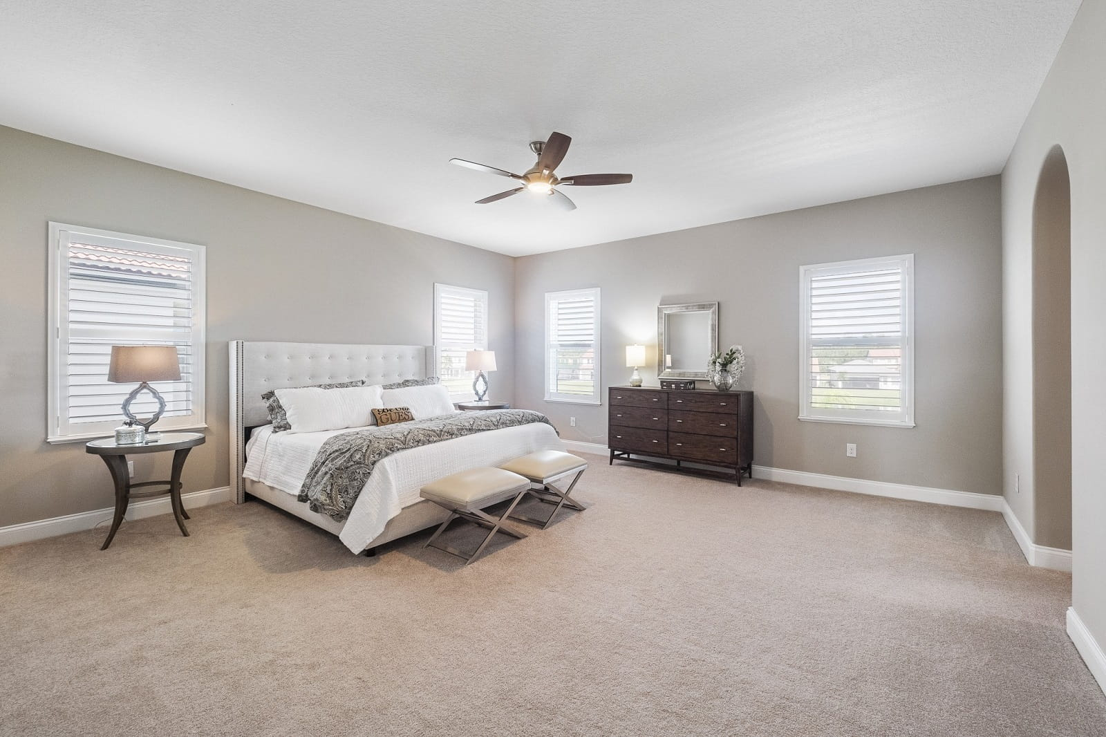 Real Estate Photography in Orlando - FL - USA - Bedroom View