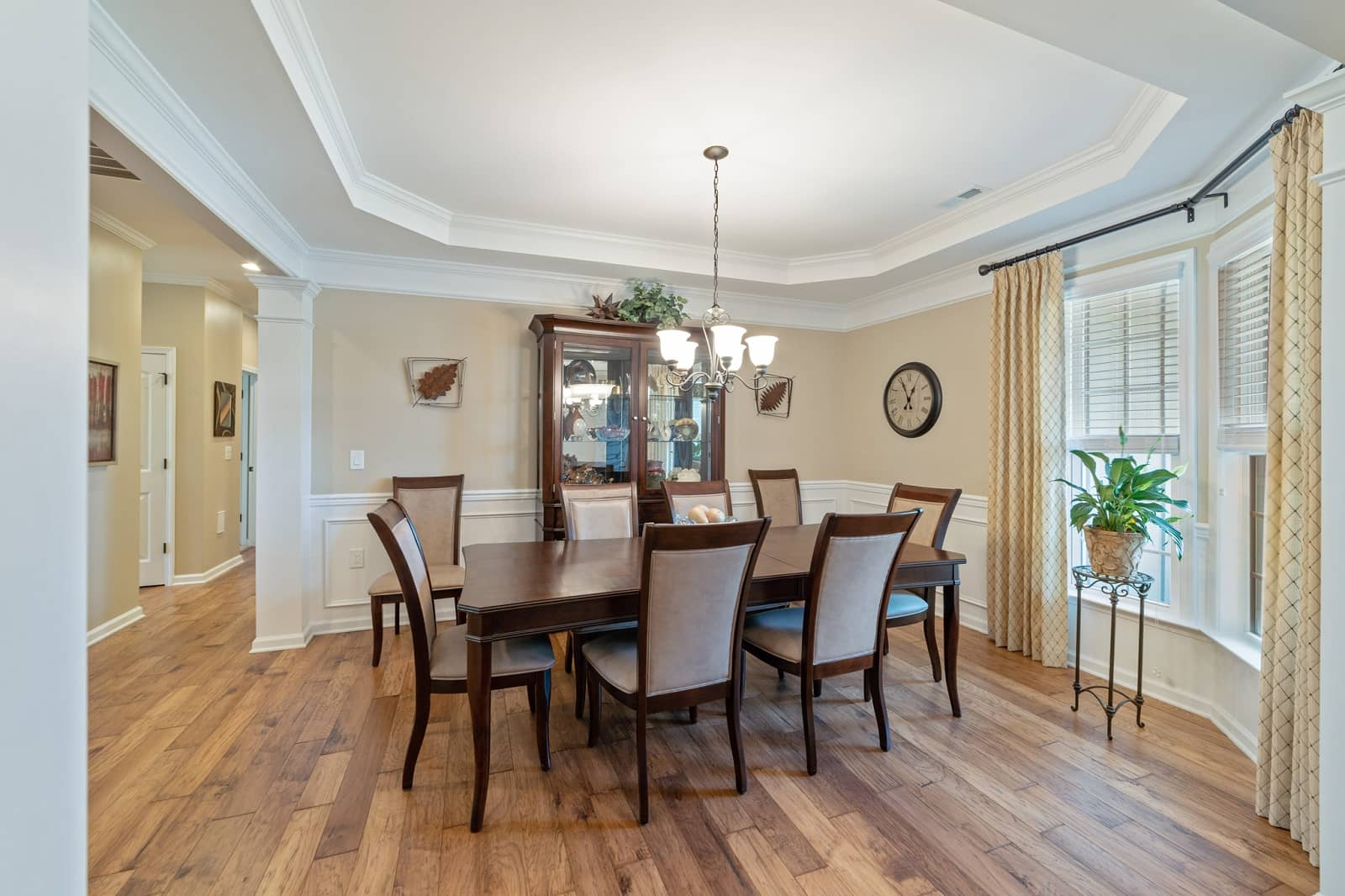 Real Estate Photography in Durham - NC - USA - Dining Area View