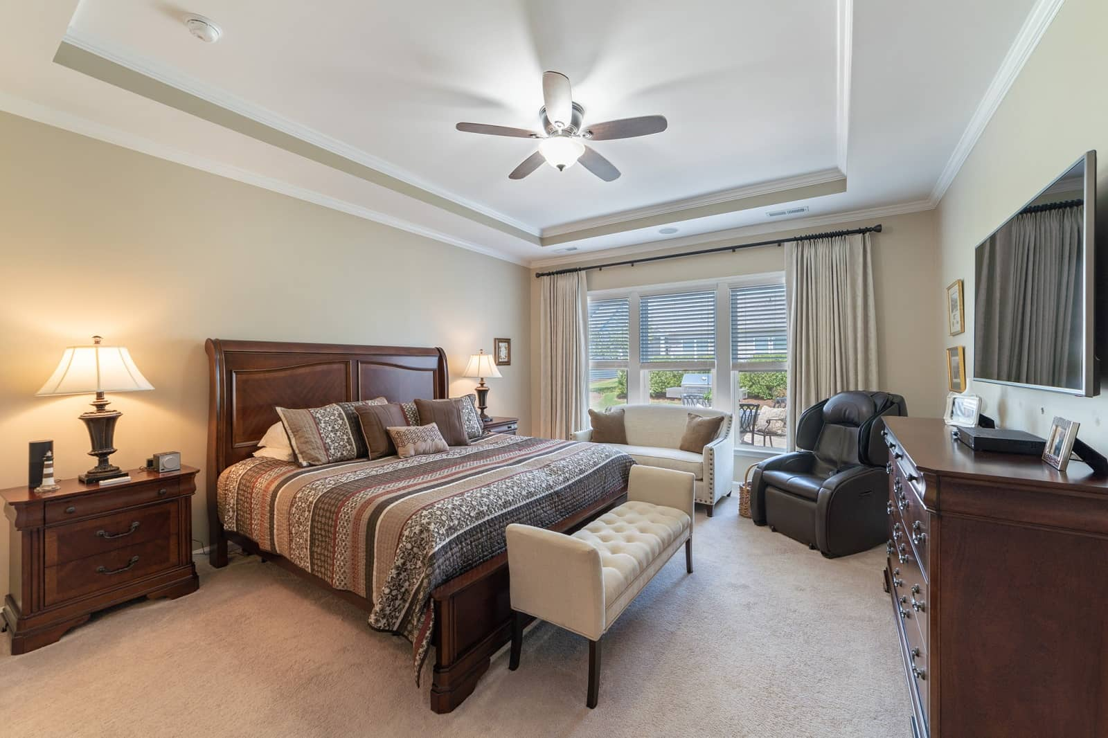 Real Estate Photography in Durham - NC - USA - Bedroom View