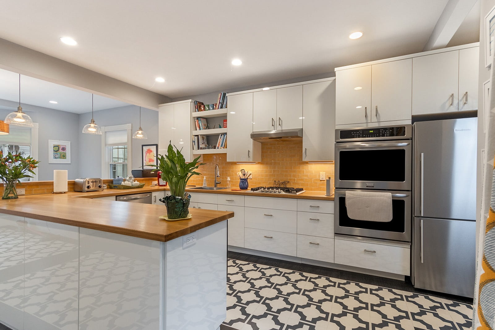 Real Estate Photography in Cambridge - MA - USA - Kitchen View
