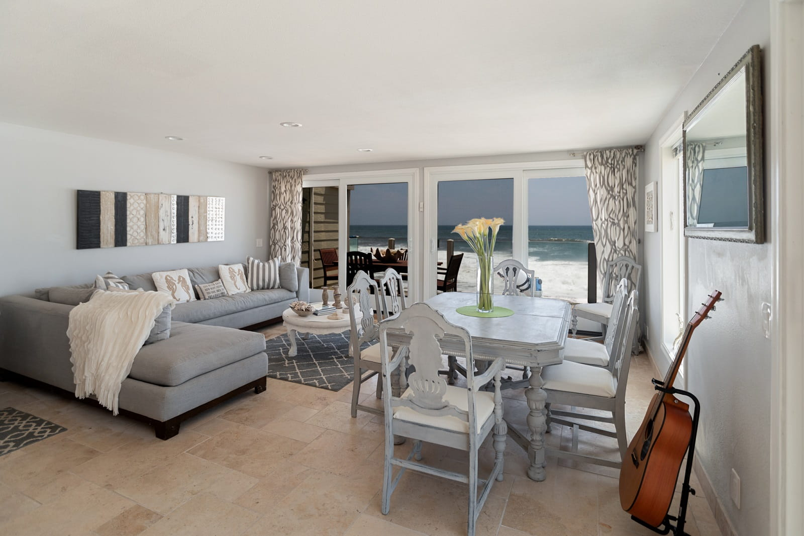 Real Estate Photography in Malibu - CA - USA - Living Area View