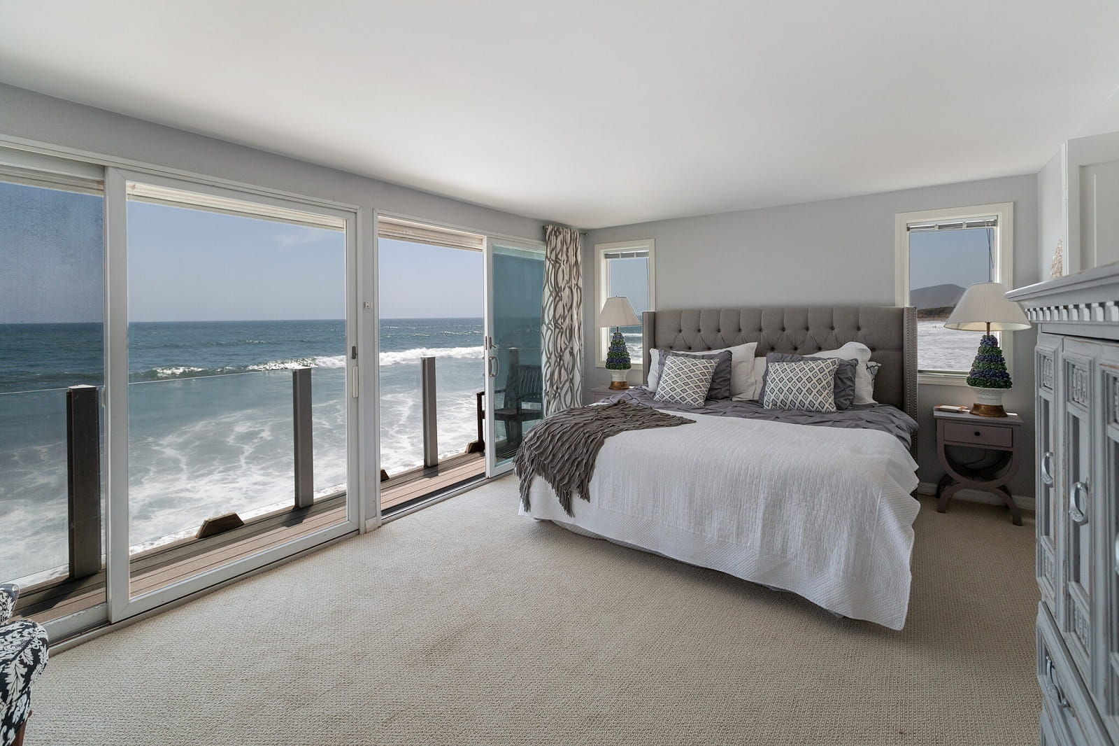 Real Estate Photography in Malibu - CA - USA - Bedroom View