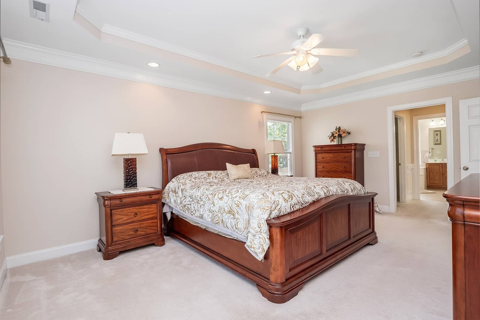 Real Estate Photography in Cary - NC - USA - Bedroom View
