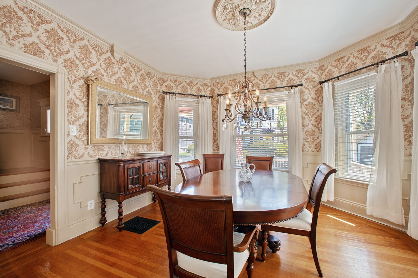 Real Estate Photography in Boston - MA - USA - Dining Area View