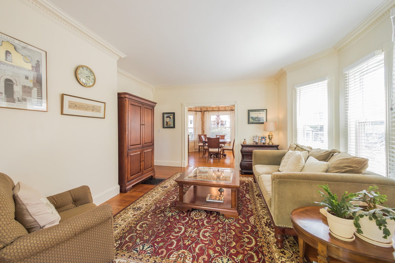 Real Estate Photography in Boston - MA - USA - Living Area View