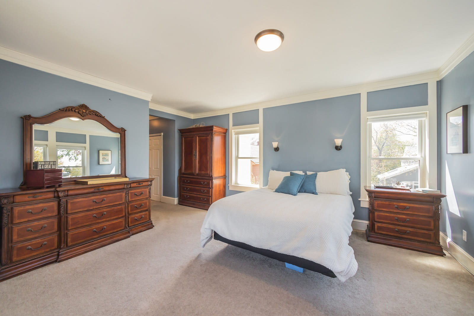 Real Estate Photography in Boston - MA - USA - Bedroom View