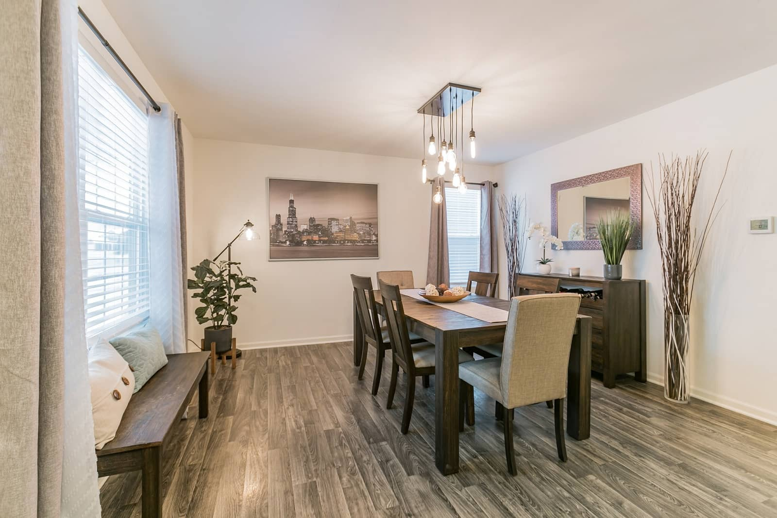 Real Estate Photography in Joliet - IL - USA - Dining Area View