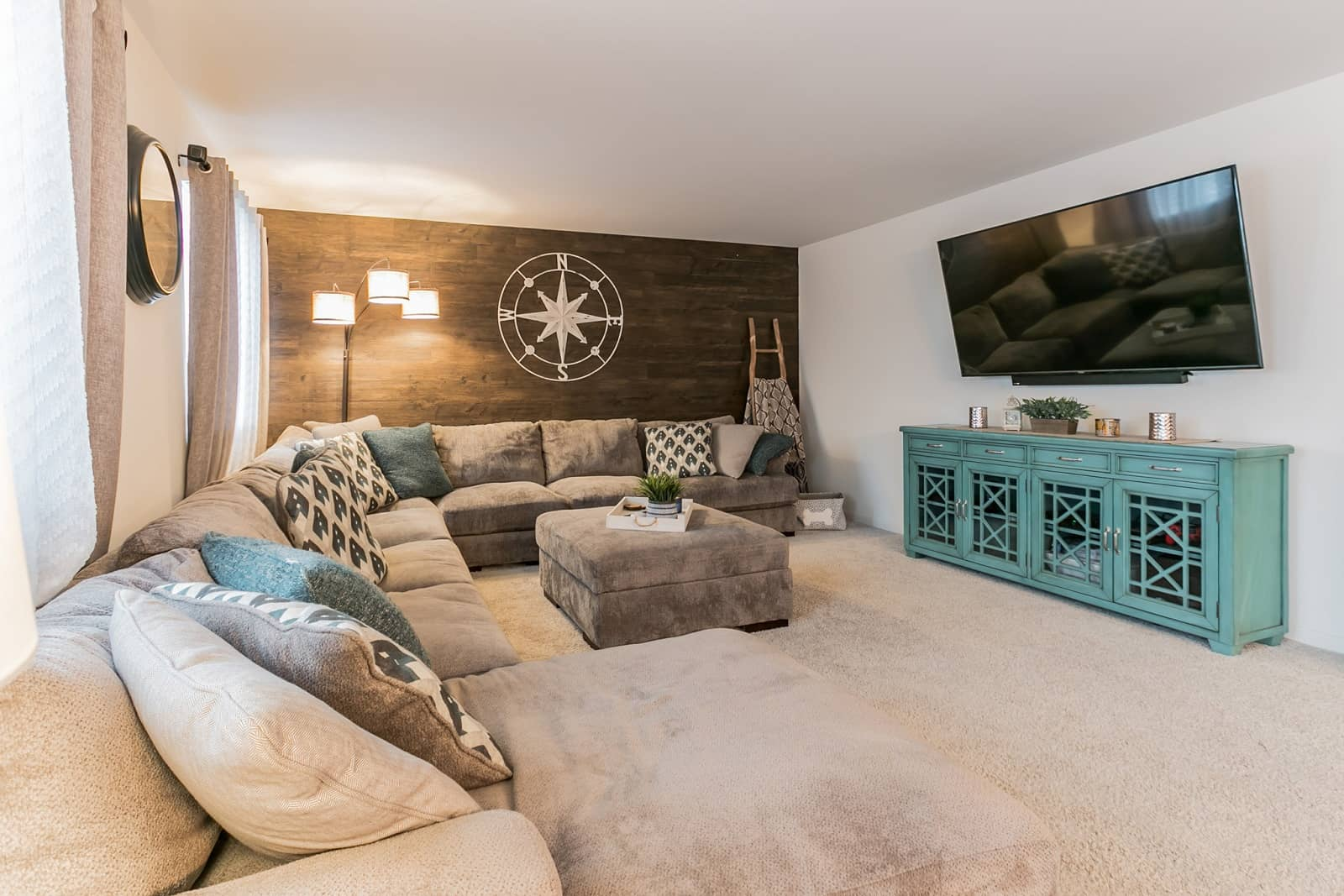Real Estate Photography in Joliet - IL - USA - Living Area View