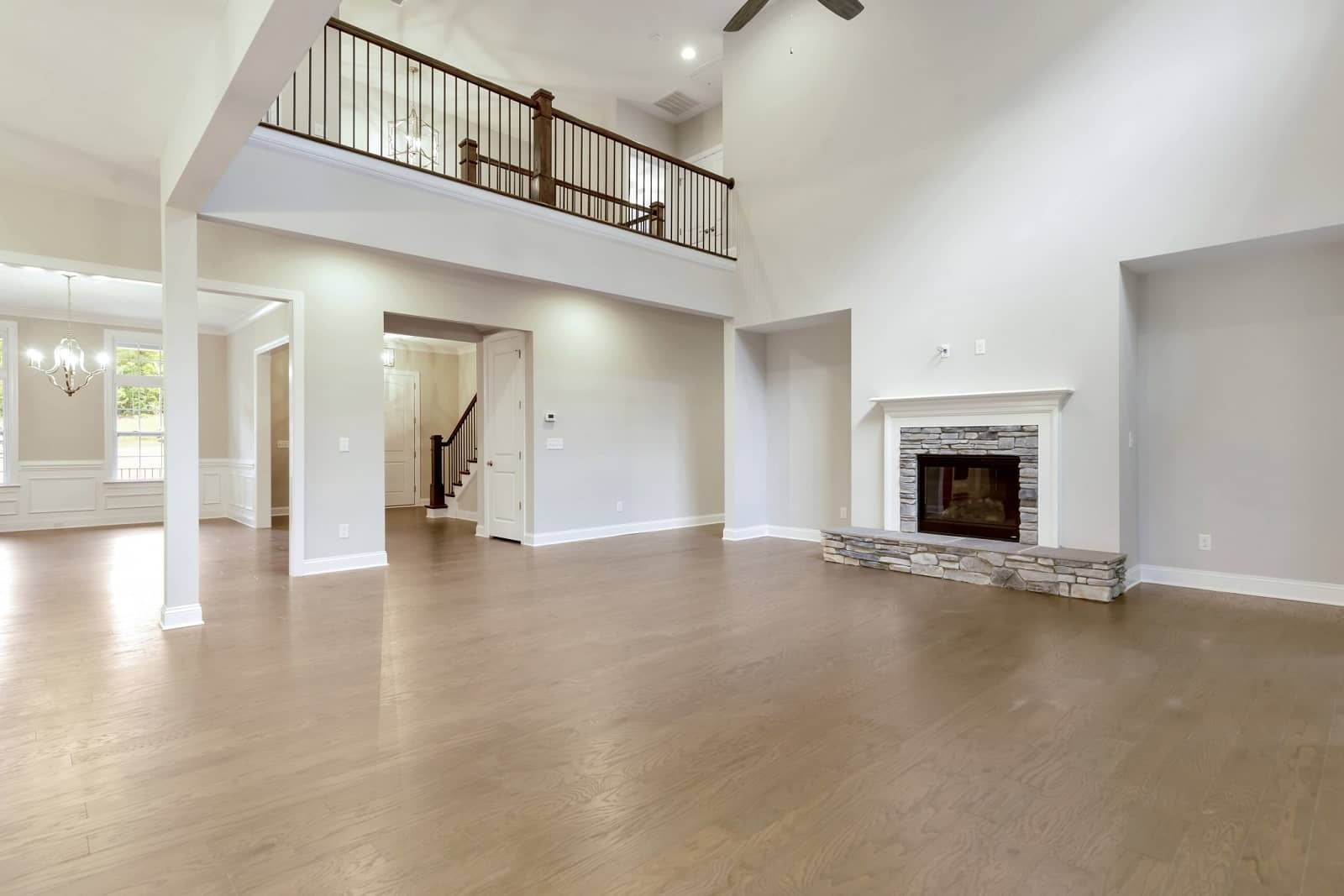 Real Estate Photography in Rock Hill - NC - USA - Living Area View