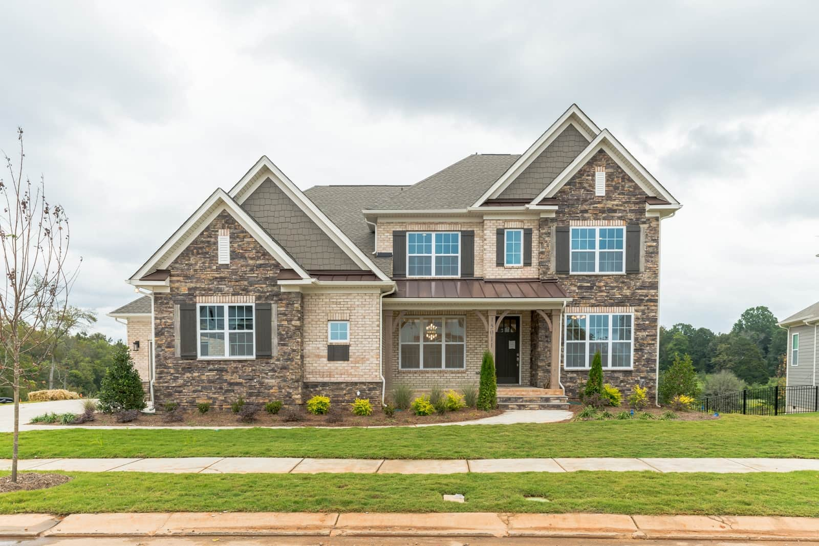 Real Estate Photography in Huntersville - NC - USA - Front View