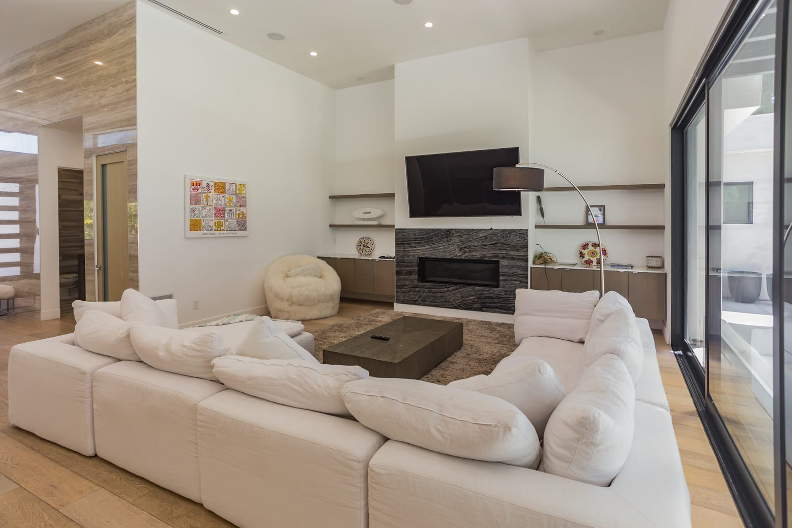 Real Estate Photography in Calabasas - CA - USA - Living Area View