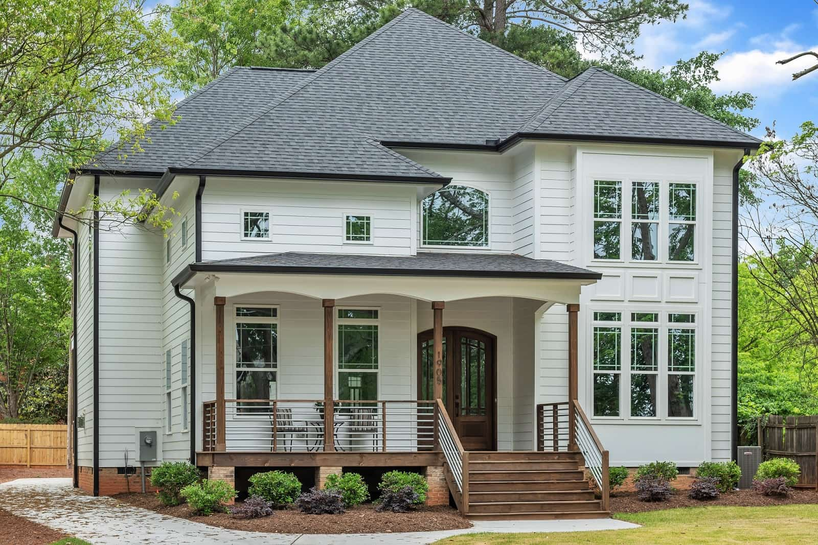 Real Estate Photography in Raleigh - NC - USA - Front View