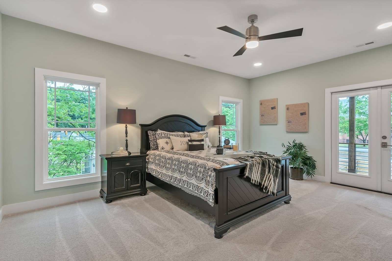 Real Estate Photography in Raleigh - NC - USA - Bedroom View