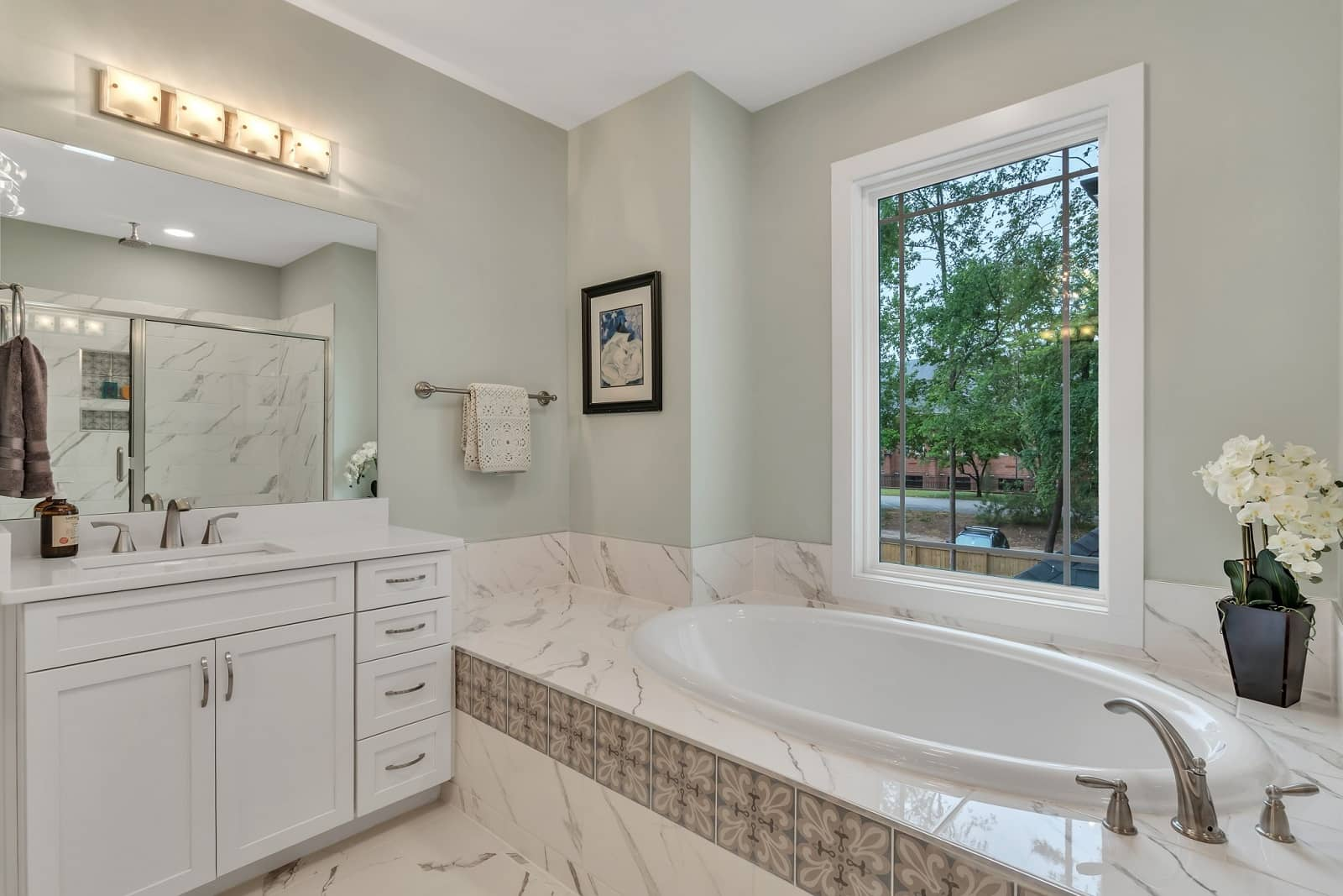 Real Estate Photography in Raleigh - NC - USA - Bathroom View