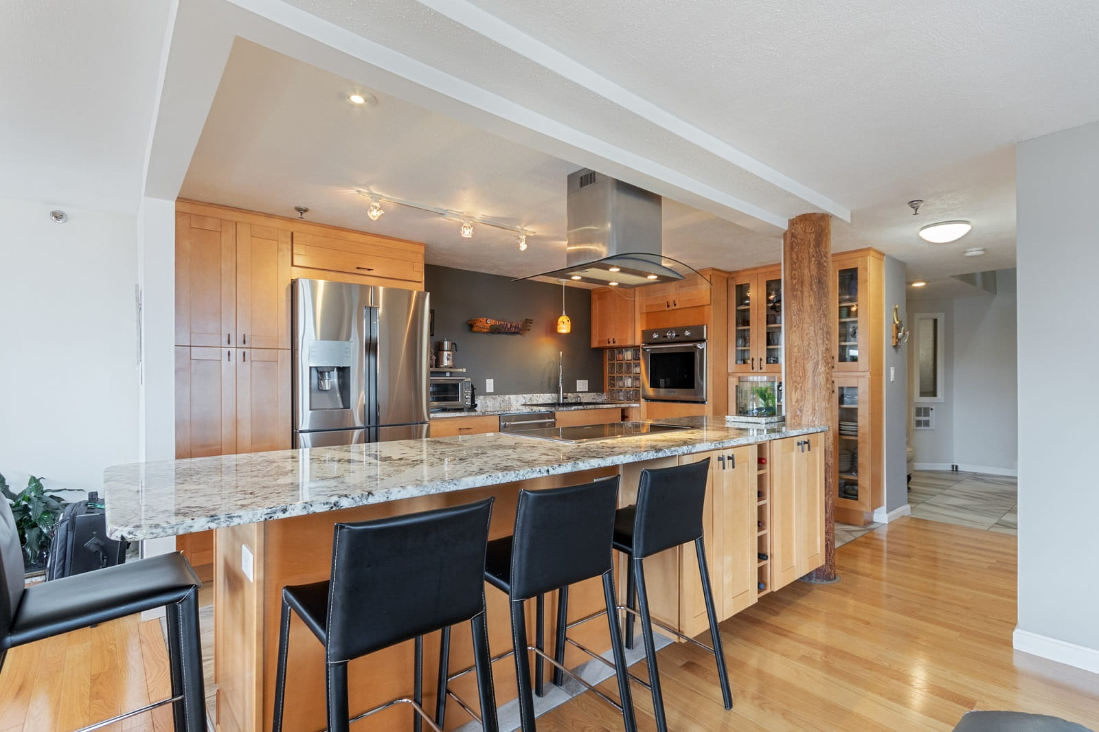 Real Estate Photography in Lowell - MA - USA - Kitchen View