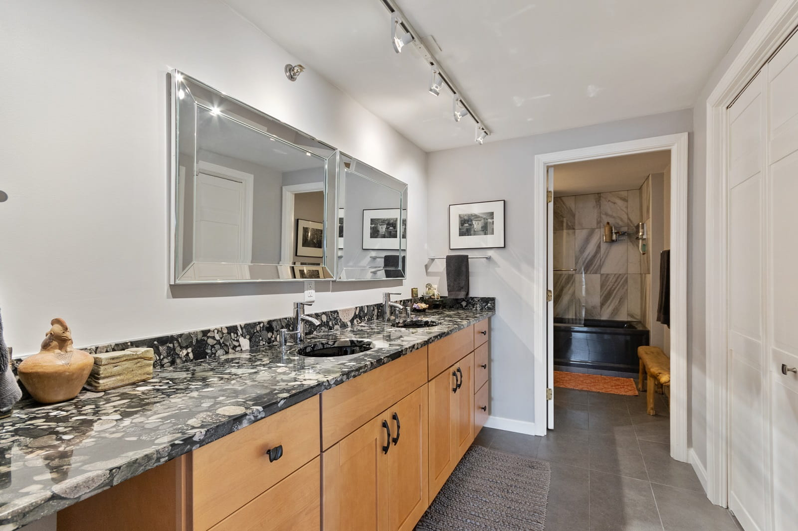 Real Estate Photography in Lowell - MA - USA - Bathroom View