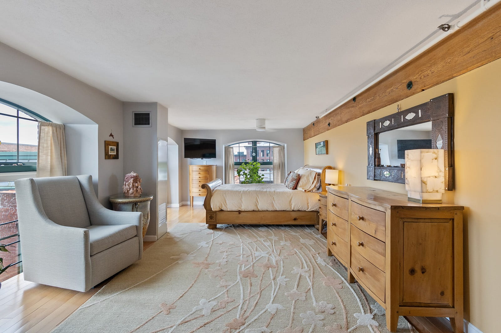 Real Estate Photography in Lowell - MA - USA - Bedroom View
