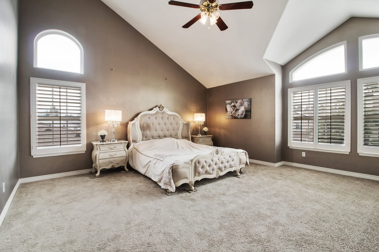 Real Estate Photography in Anaheim - CA - USA - Bedroom View