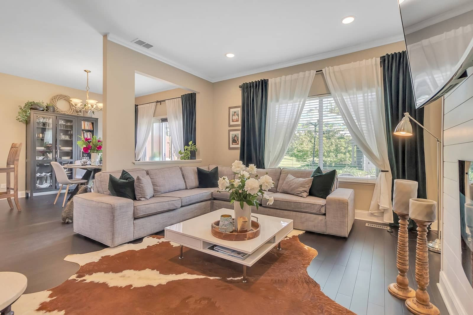 Real Estate Photography in Elgin - IL - USA - Living Area View