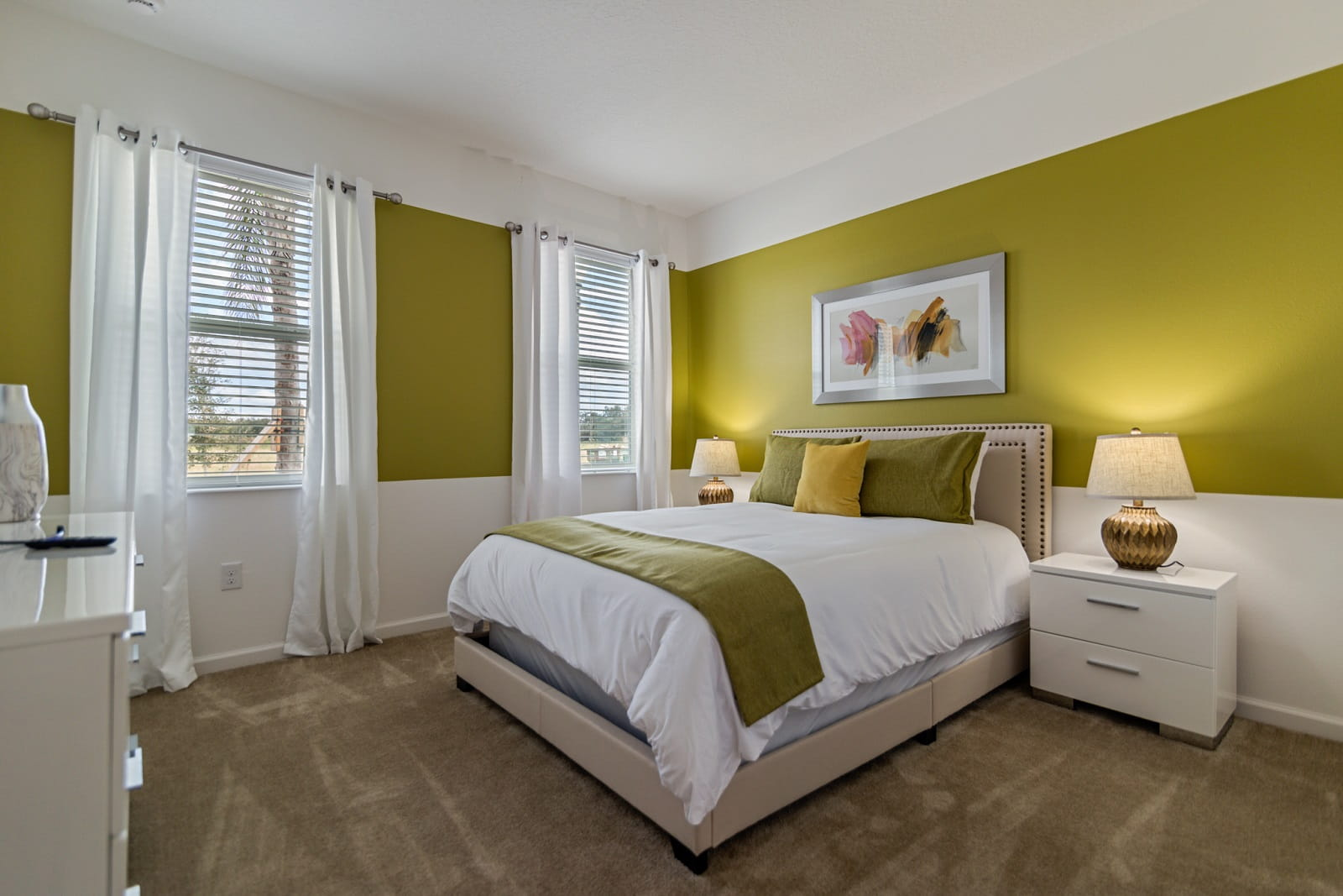 Real Estate Photography in Kissimmee - FL - USA - Bedroom View