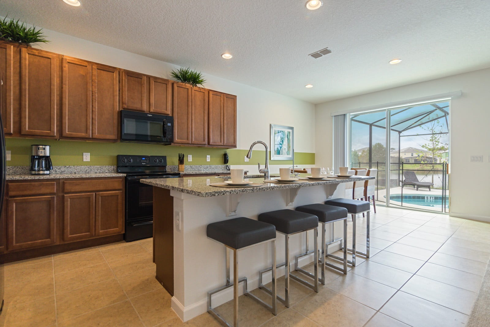 Real Estate Photography in Kissimmee - FL - USA - Kitchen View