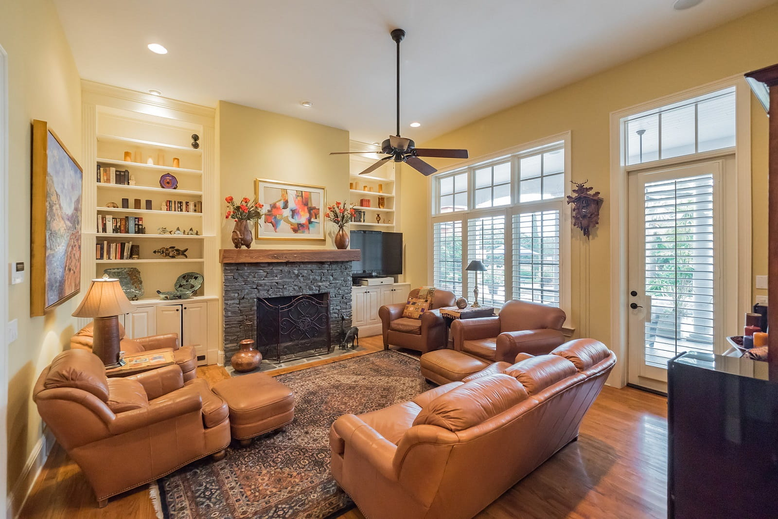 Real Estate Photography in Sanford - FL - USA - Living Area View