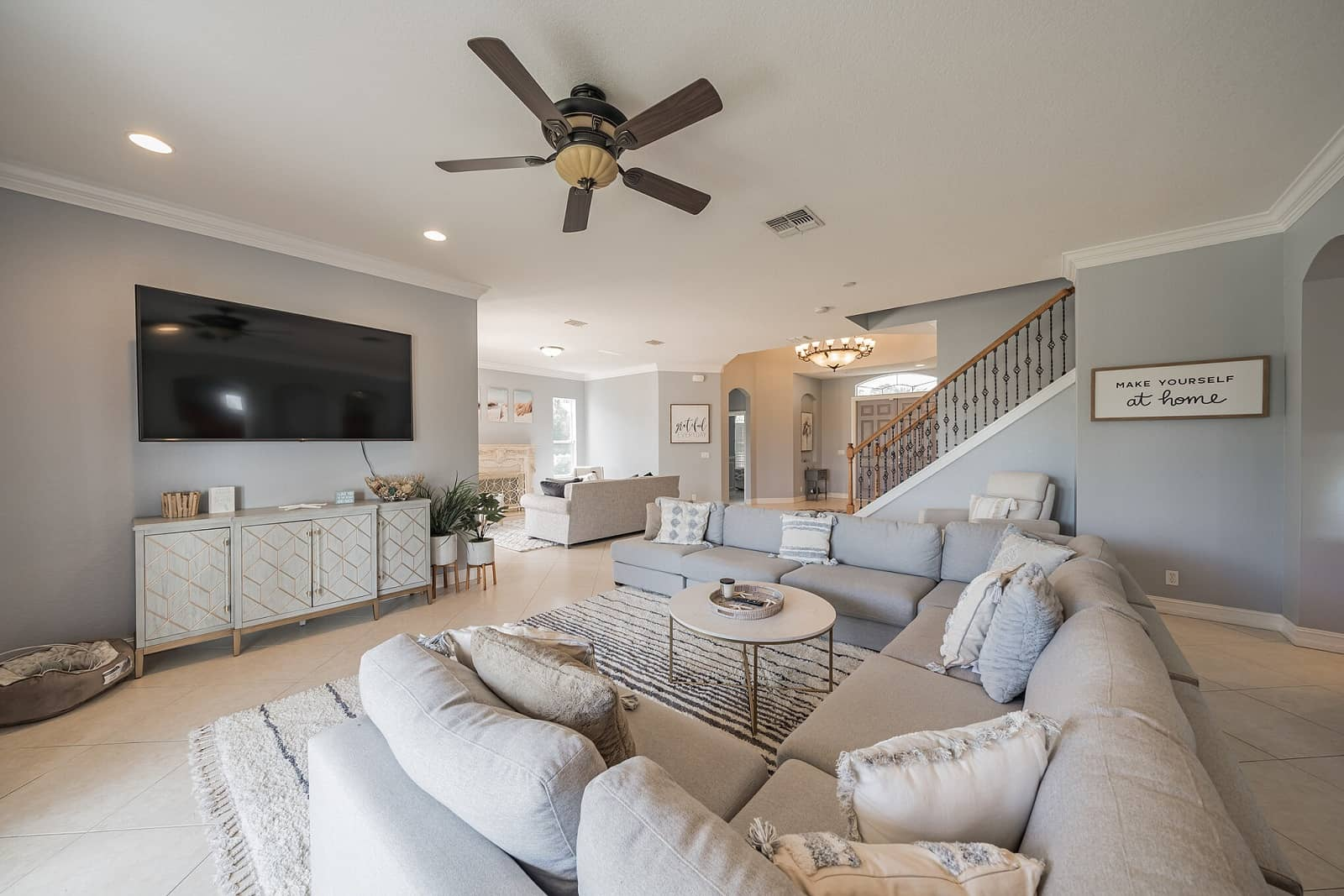Real Estate Photography in Port St. Lucie - FL - USA - Living Area View