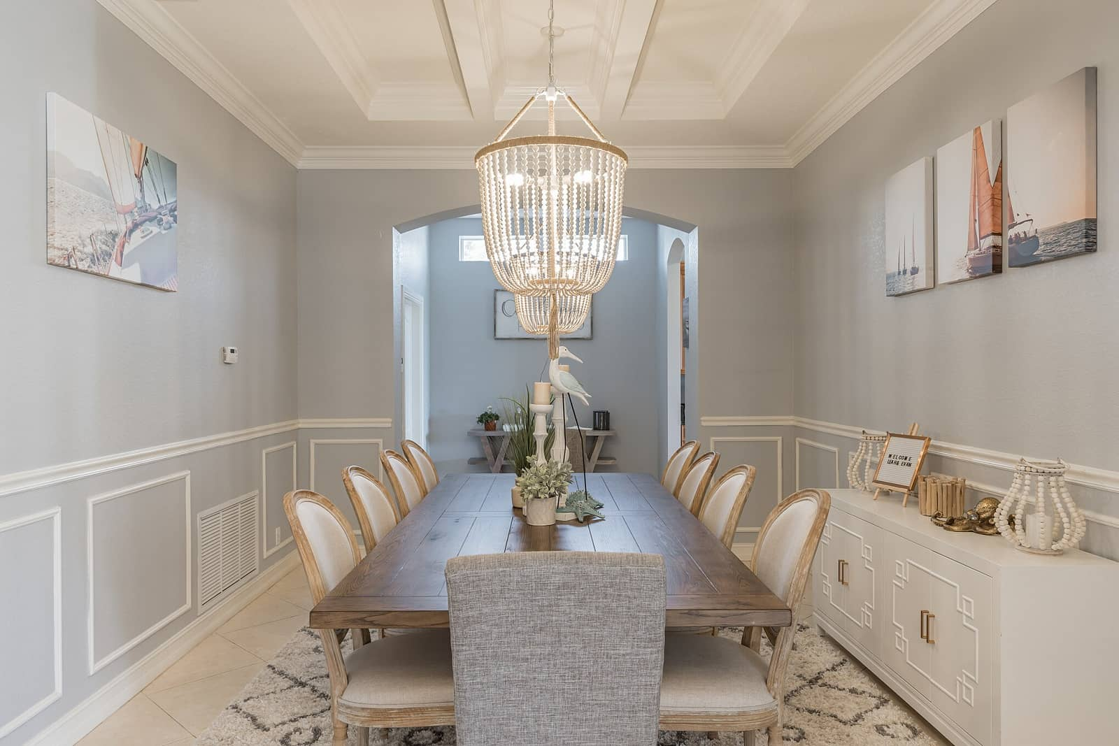 Real Estate Photography in Port St. Lucie - FL - USA - Dining Area View