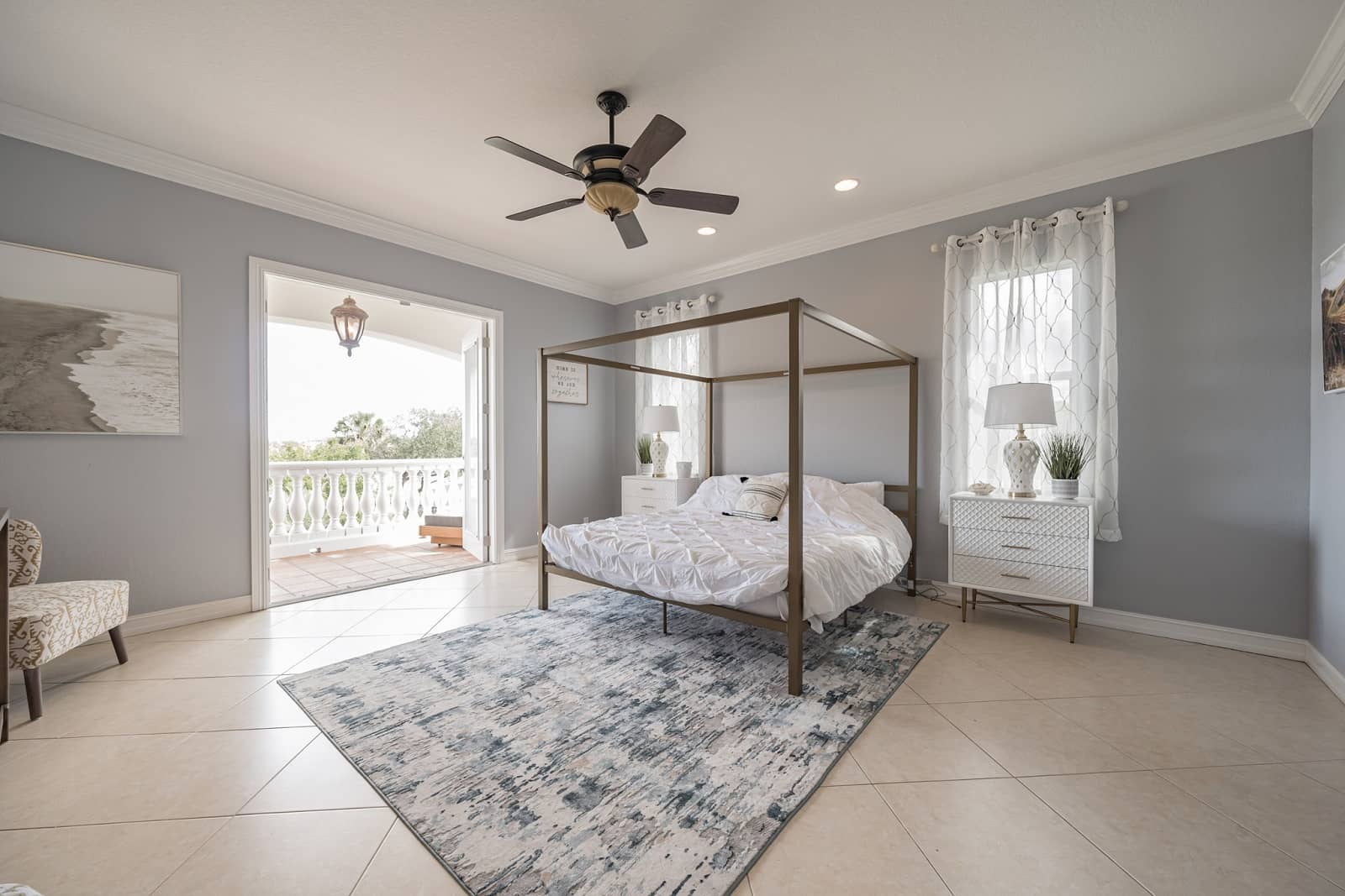 Real Estate Photography in Port St. Lucie - FL - USA - Bedroom View