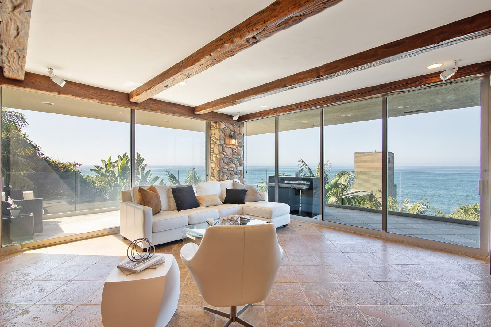 Real Estate Photography in Laguna Beach - CA - USA - Living Area View
