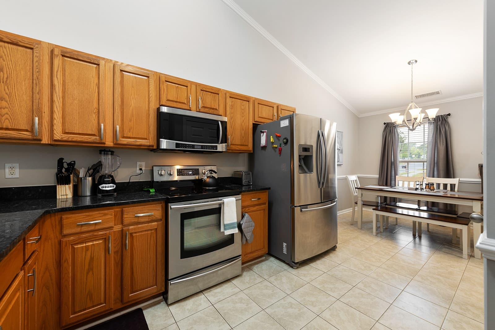 Real Estate Photography in Charlotte - NC - USA - Kitchen View