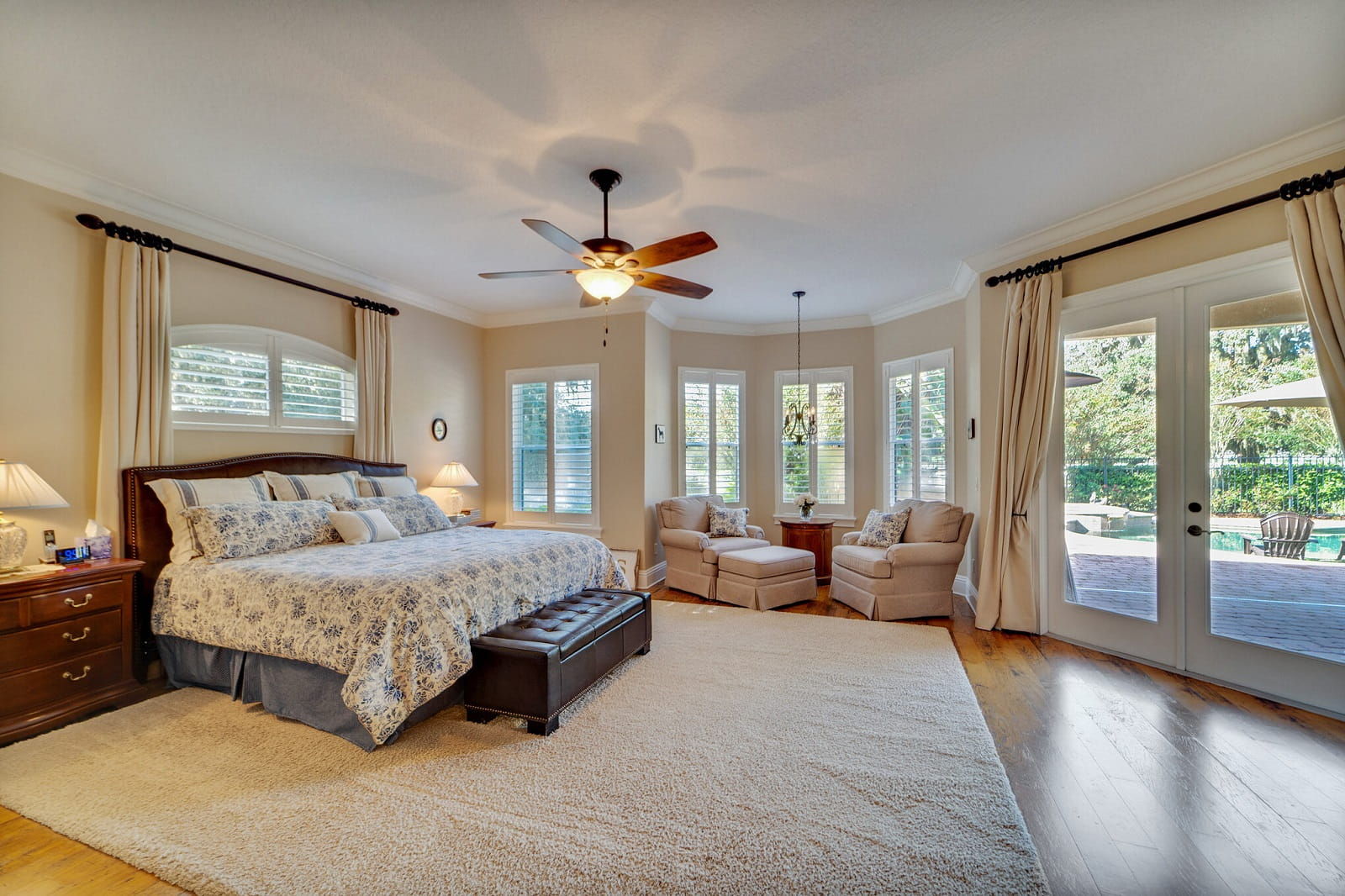 Real Estate Photography in Apopka - FL - USA - Bedroom View