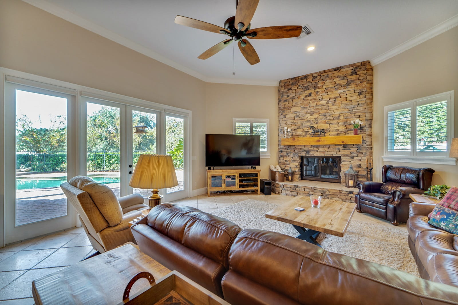 Real Estate Photography in Apopka - FL - USA - Living Area View