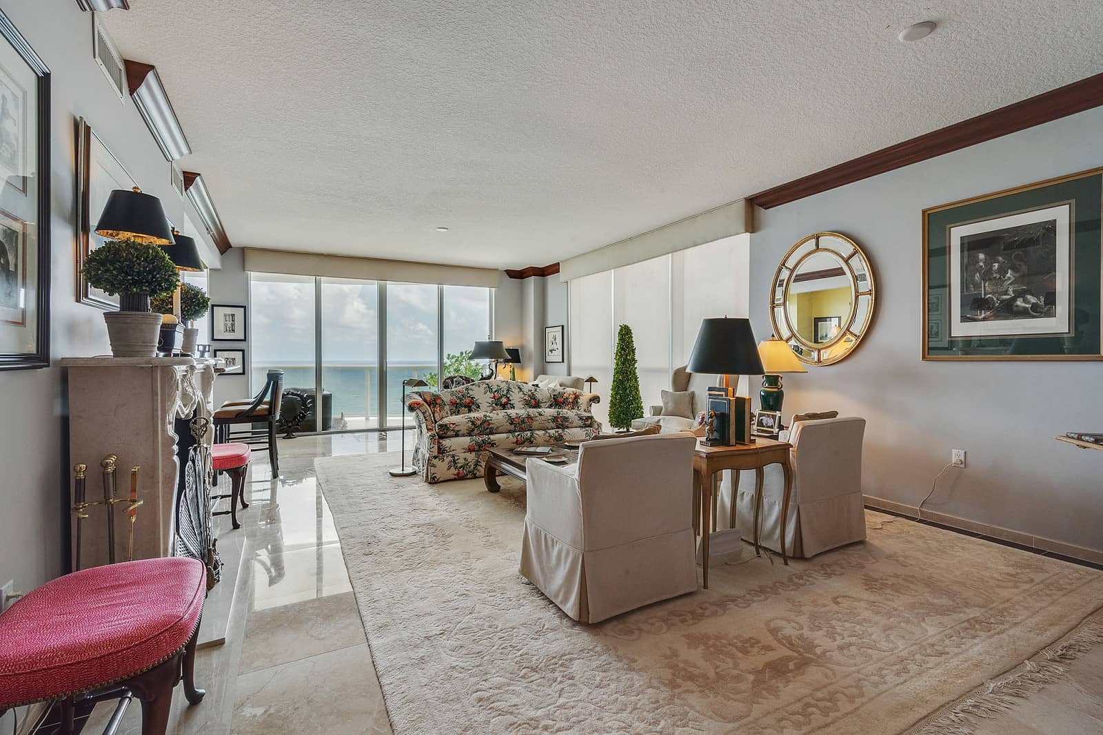 Real Estate Photography in Fort Lauderdale - FL - USA - Living Area View