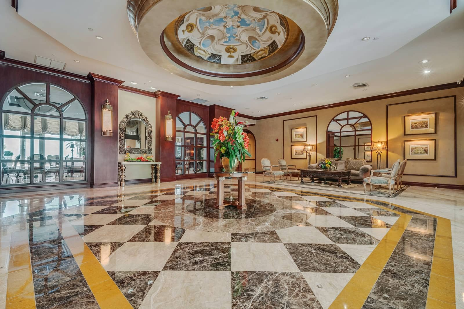 Real Estate Photography in Fort Lauderdale - FL - USA - Lobby View