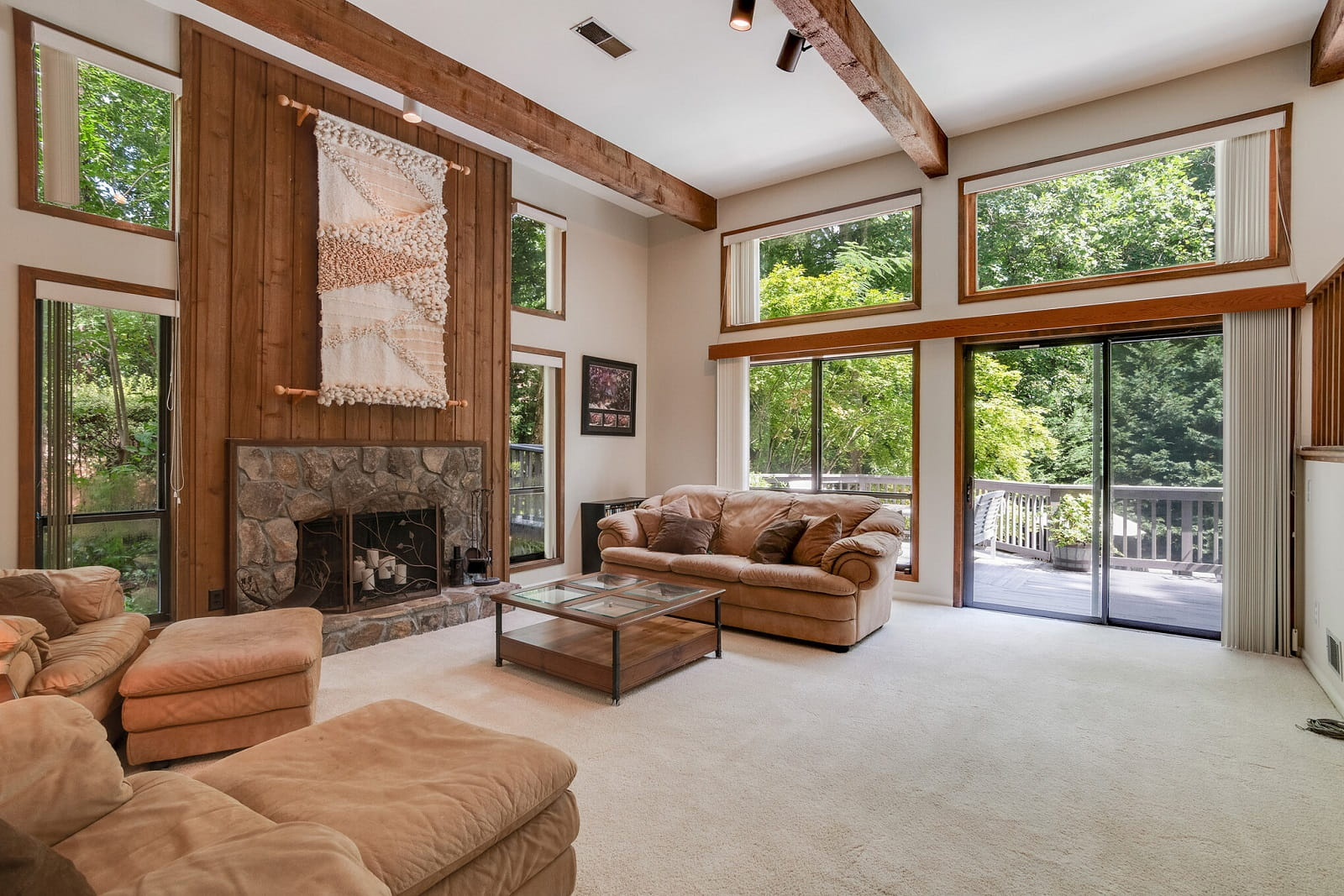 Real Estate Photography in Johns Creek - GA - USA - Living Area View